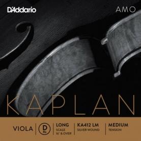 Cuerda Re Viola D'addario Kaplan AMO KA412