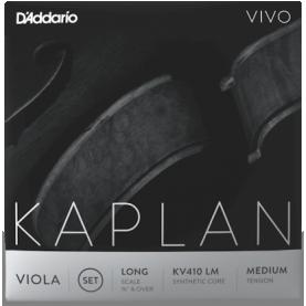 Cuerda Re Viola D'addario Kaplan Vivo KV412