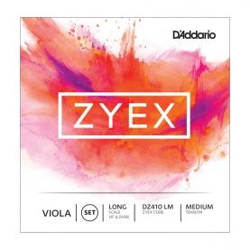 Juego Cuerdas Viola D'addario Zyex DZ410