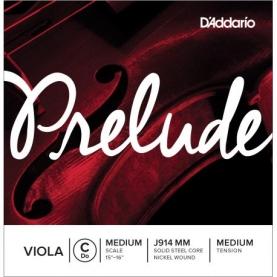 Cuerda Do Viola D'addario Prelude J914