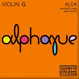Cuerda Sol Violin Thomastik Alphayue AL04