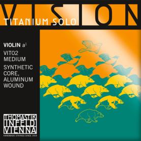 Cuerda La Violin Thomastik Vision Titanium Solo VIT02