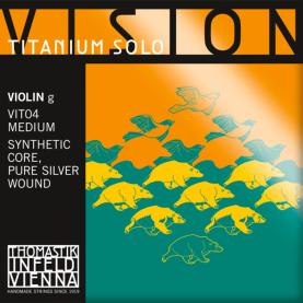 Cuerda Sol Violin Thomastik Vision Titanium Solo VIT04