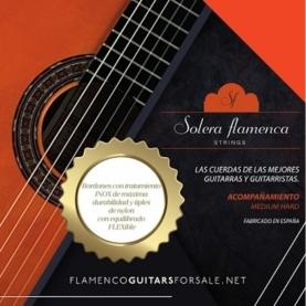 Cuerdas Guitarra Flamenca Solera Acompañamiento