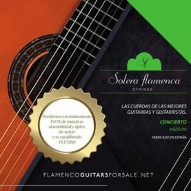 Cuerdas Guitarra Flamenca Solera Concierto