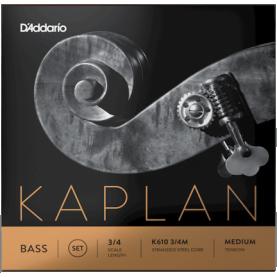Cuerdas Contrabajo D'addario Kaplan
