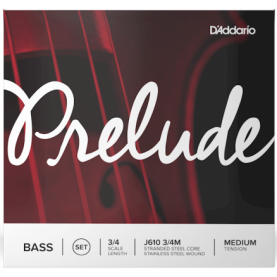 Cuerdas Contrabajo D'addario Prelude J610