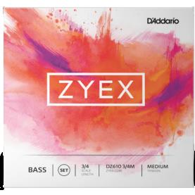 Cuerdas Contrabajo D'addario Zyex