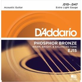 Cuerdas D'Addario EJ15 Phosphor