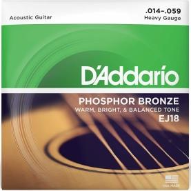 Cuerdas D'addario EJ18 Phosphor