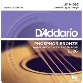 Cuerdas D'Addario EJ26 Phosphor