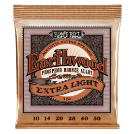 Cuerdas Ernie Ball Slinky Phosphor Bronce Extra Light