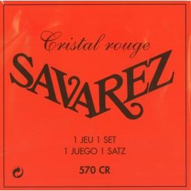 Set Cuerdas Savarez 570-CR Cristal Roja