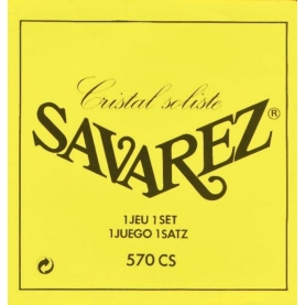 Set Cuerdas Savarez 570-CS Cristal Soliste