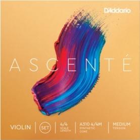 Juego Cuerda Violin D'addario Ascente A310