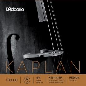 Cuerda Cello D'addario Kaplan KS511 LA 4/4M