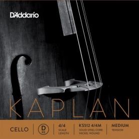 Cuerda Cello D'addario Kaplan KS512 RE 4/4M