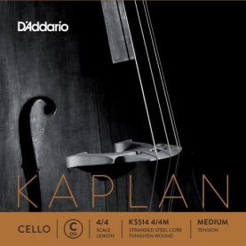 Cuerda Cello D'addario Kaplan KS514 DO 4/4M