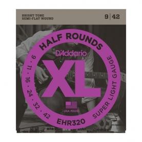 Cuerdas D'Addario HR Half Round EHR320