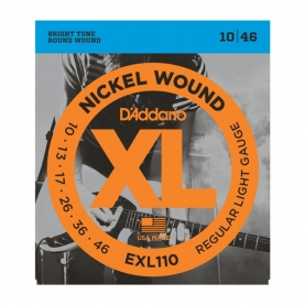 Cuerdas D'Addario XL Nickel Wound EXL110