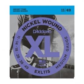 Cuerdas D'Addario XL Nickel Wound EXL115