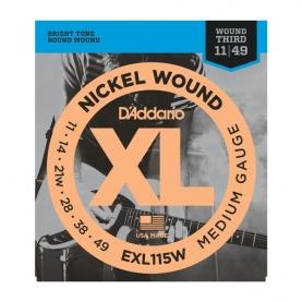 Cuerdas D'Addario XL Nickel Wound EXL115W