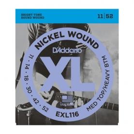 Cuerdas D'Addario XL Nickel Wound EXL116