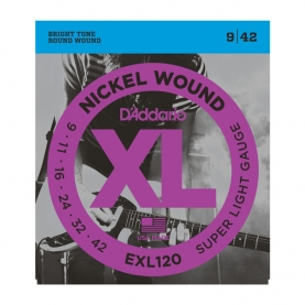Cuerdas D'Addario XL Nickel Wound EXL120