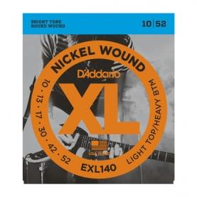 Cuerdas D'Addario XL Nickel Wound EXL140