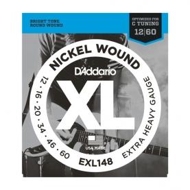 Cuerdas D'Addario XL Nickel Wound EXL148