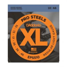 Cuerdas D'Addario XL ProSteels EPS510