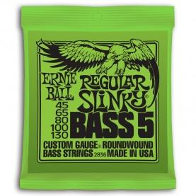 Cuerdas Ernie Ball Regular Slinky Bass 5