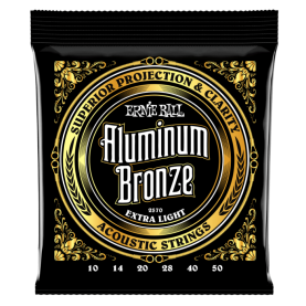 Cuerdas Ernie Ball Aluminium Bronze Extra Light