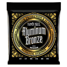 Cuerdas Ernie Ball Aluminium Bronze Medium