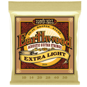 Cuerdas Ernie Ball Earthwood Extra light