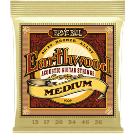 Cuerdas Ernie Ball Earthwood Medium