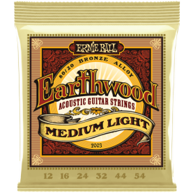 Cuerdas Ernie Ball Earthwood Medium Light