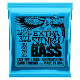 Cuerdas Ernie Ball Extra Slinky Bass