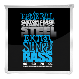 Cuerdas Ernie Ball Stainless Steel Extra Slinky Bass