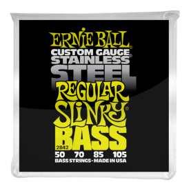 Cuerdas Ernie Ball Stainless Steel Regular Slinky Bass