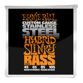 Cuerdas Ernie Ball Stainless Steel Hybrid Slinky Bass