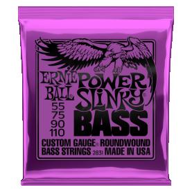 Cuerdas Ernie Ball power Slinky Bass