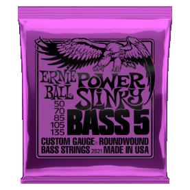 Cuerdas Ernie Ball Power Slinky Bass 5