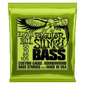Cuerdas Ernie Ball Regular Slinky Bass