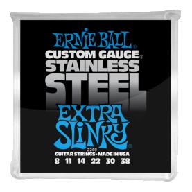 Cuerdas Ernie Ball Stainless Steel Extra Slinky
