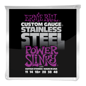 Cuerdas Ernie Ball Stainless Steel Power Slinky