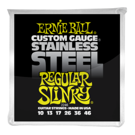 Cuerdas Ernie Ball Stainless Steel Regular Slinky