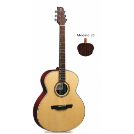 Guitarra Jumbo Alhambra J-3