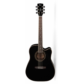 Guitarra Acustica Cort AD880CE BK