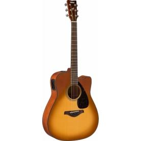 Guitarra Yamaha FGX800C SDB